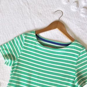 Joules Striped Jersey Mini Dress! Size 6!